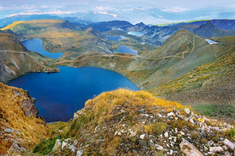 Seven Rila lakes in Bulgaria