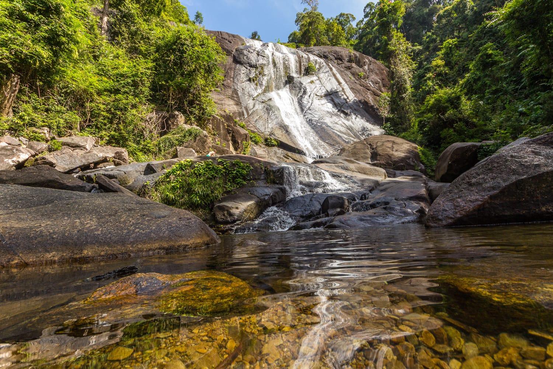 Seven Wells Waterfall in Langkawi, Malaysia