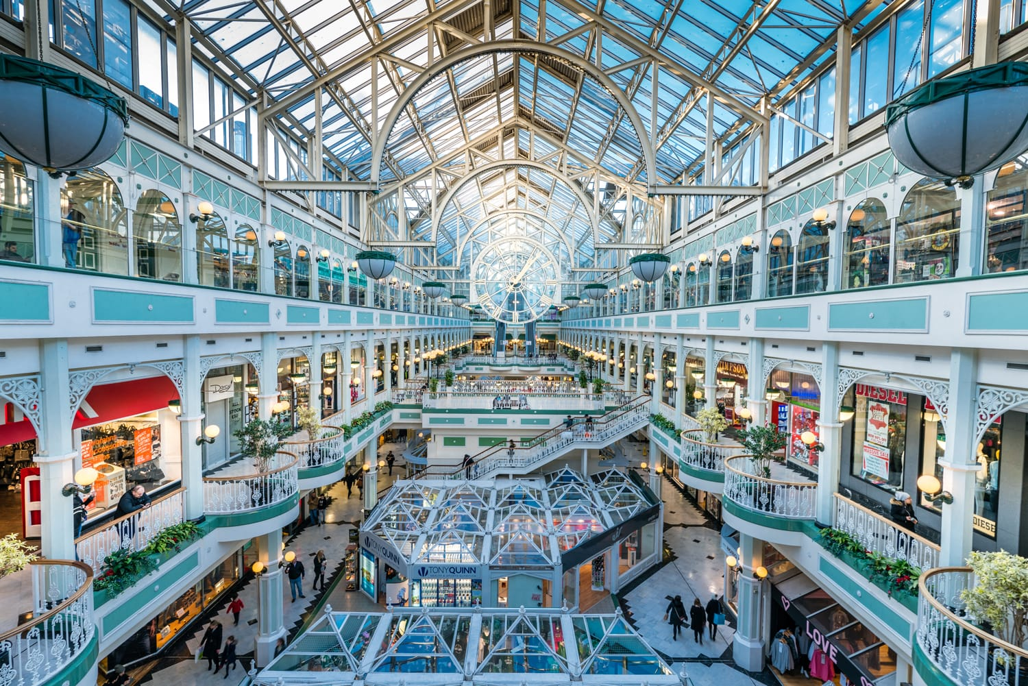 Stephen's Green Shopping Centre in Dublin, Ireland
