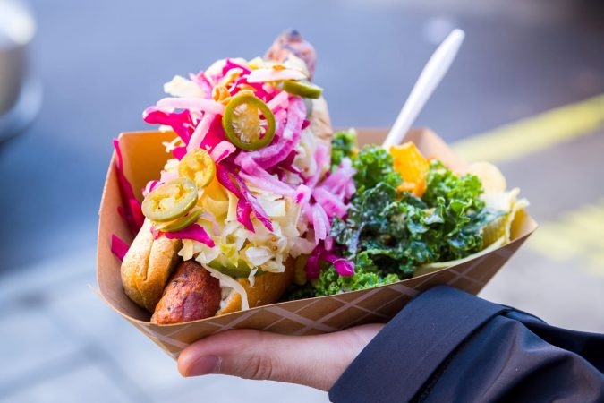 Vegan Street Food in NYC