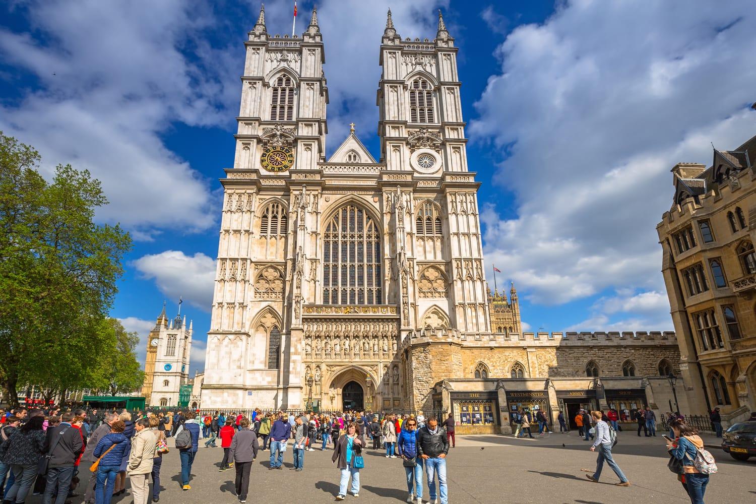 Westminster Abbey in London, UK
