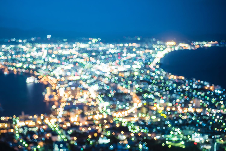 Hakodate Night View Japan