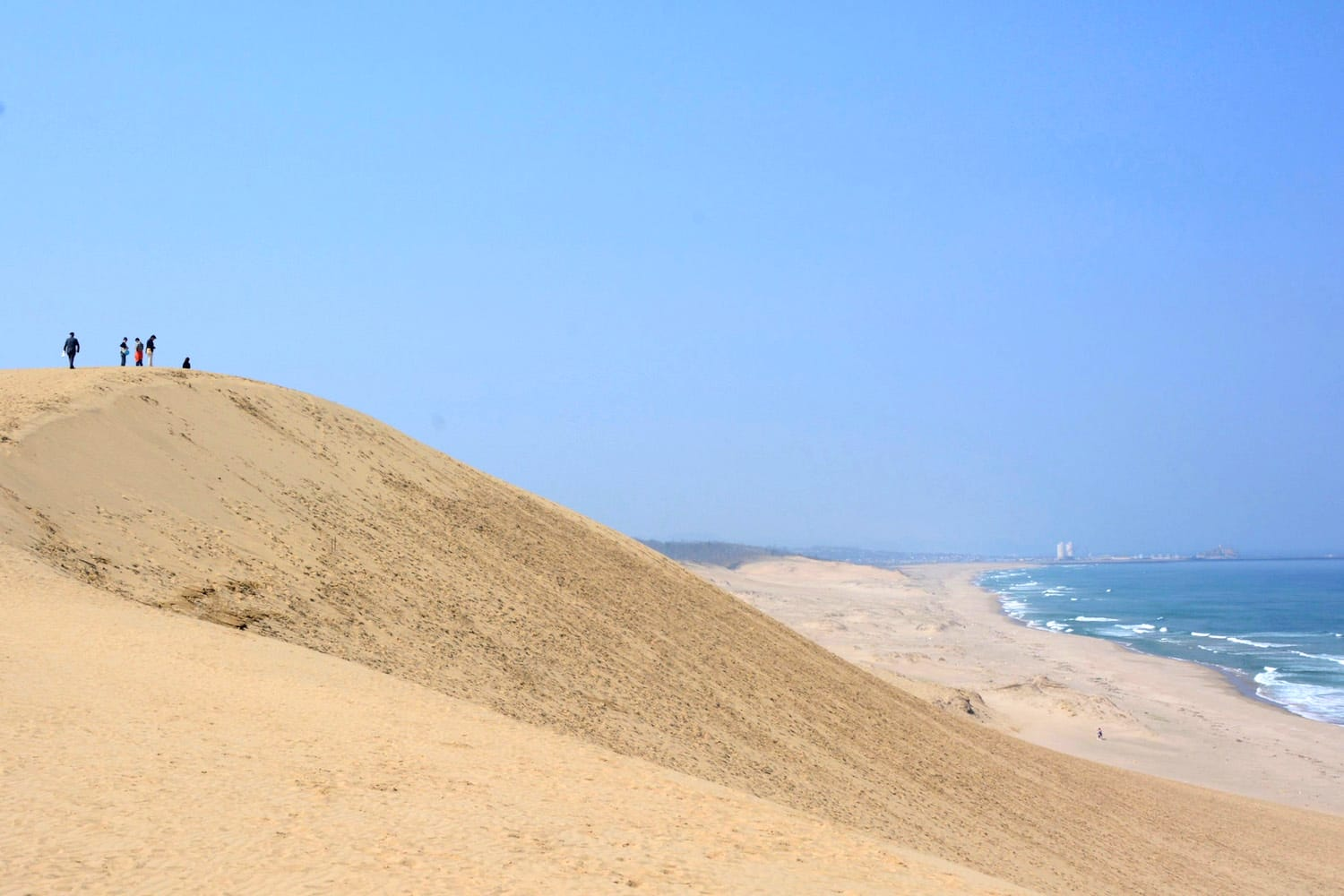 Tottori Sand Dunes in Japan