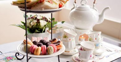 traditional English high tea
