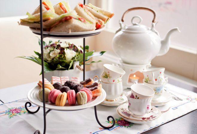 traditional English high tea