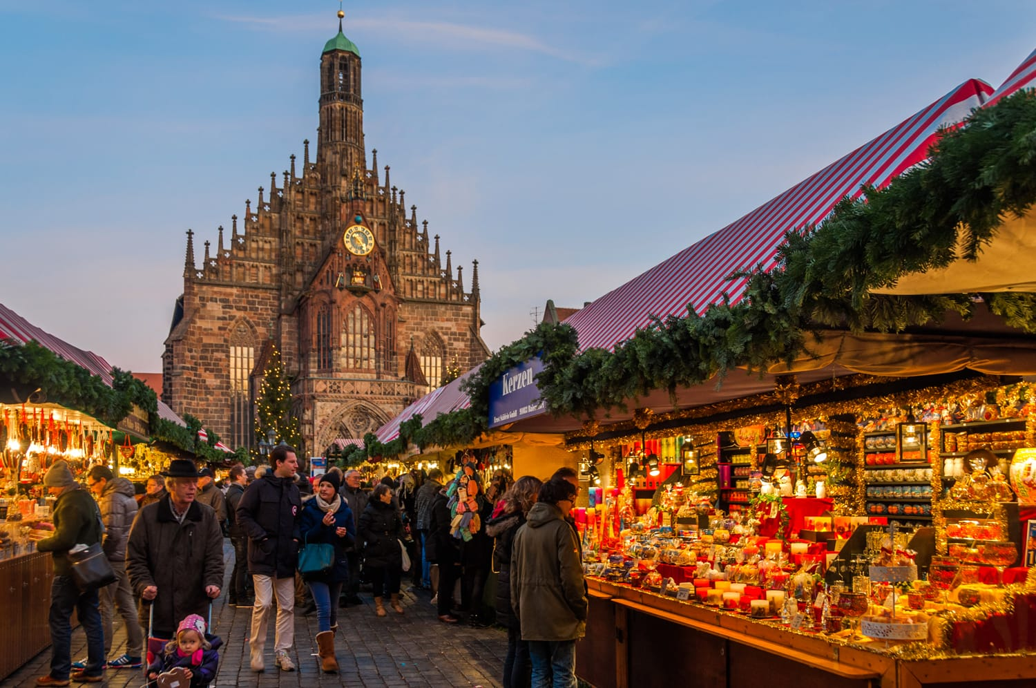 Nuremberg's Christmas Market is one of Germany's oldest Christmas fairs dating back to the 16th century.