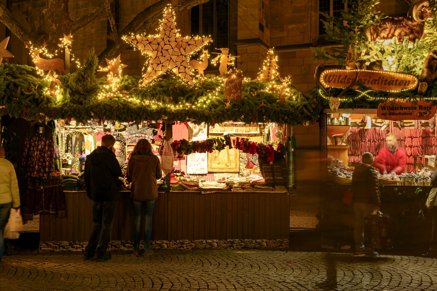 Christmas market in Stuttgart, Germany