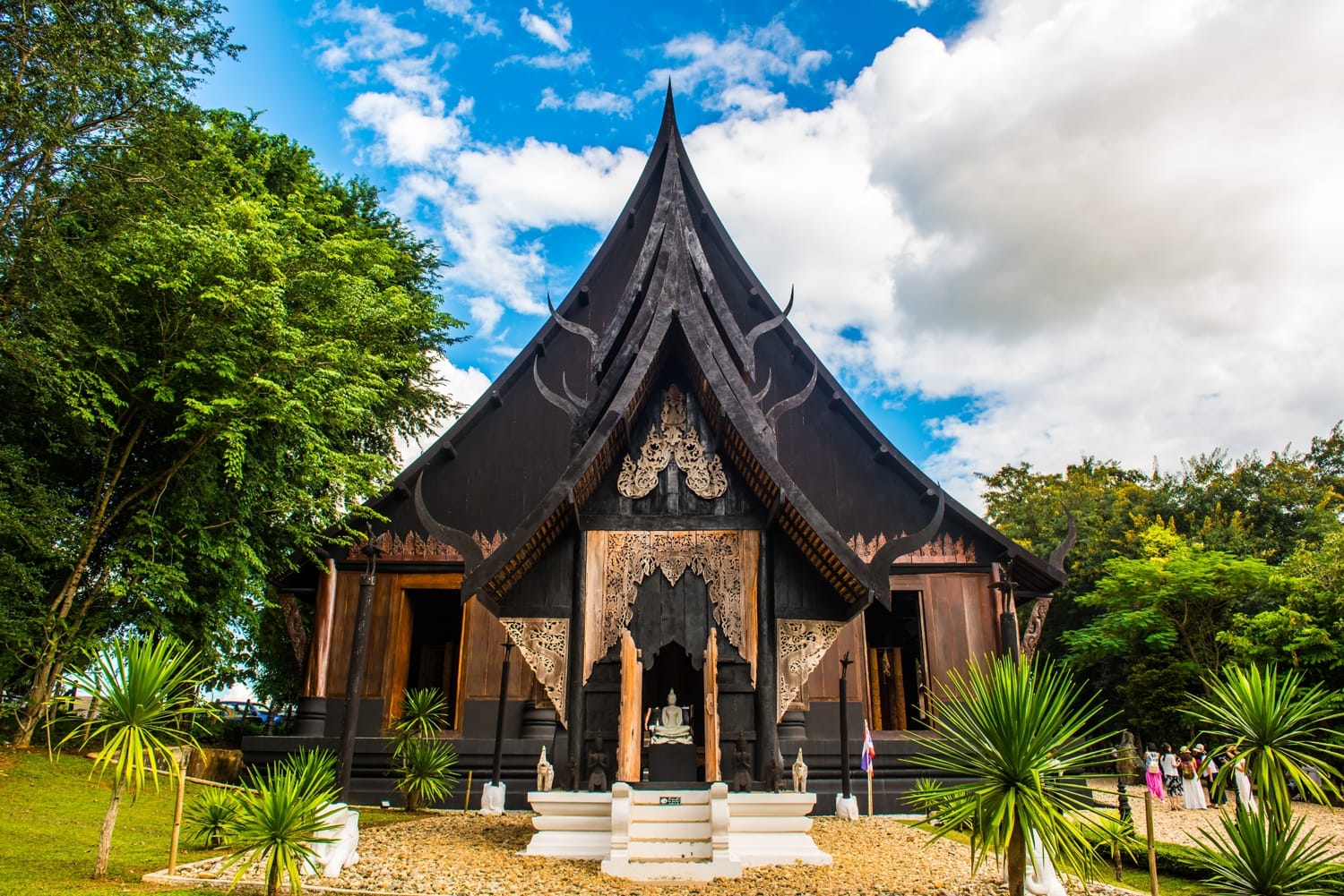 Black Cathedral at Baandam Museum, Thailand.