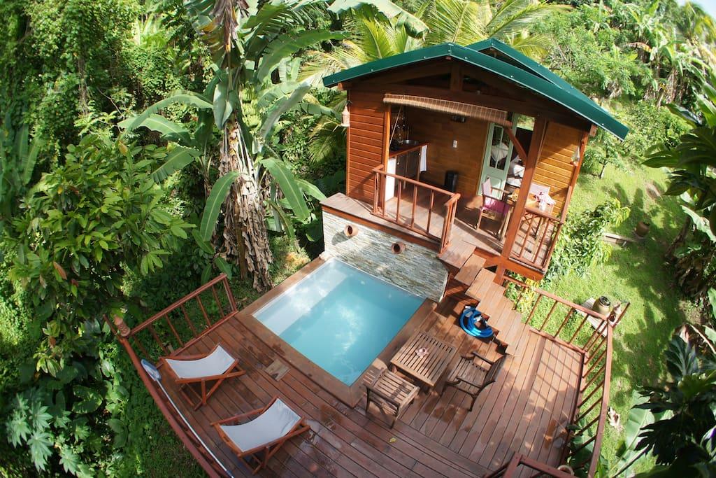 Coco Lodge in Martinique
