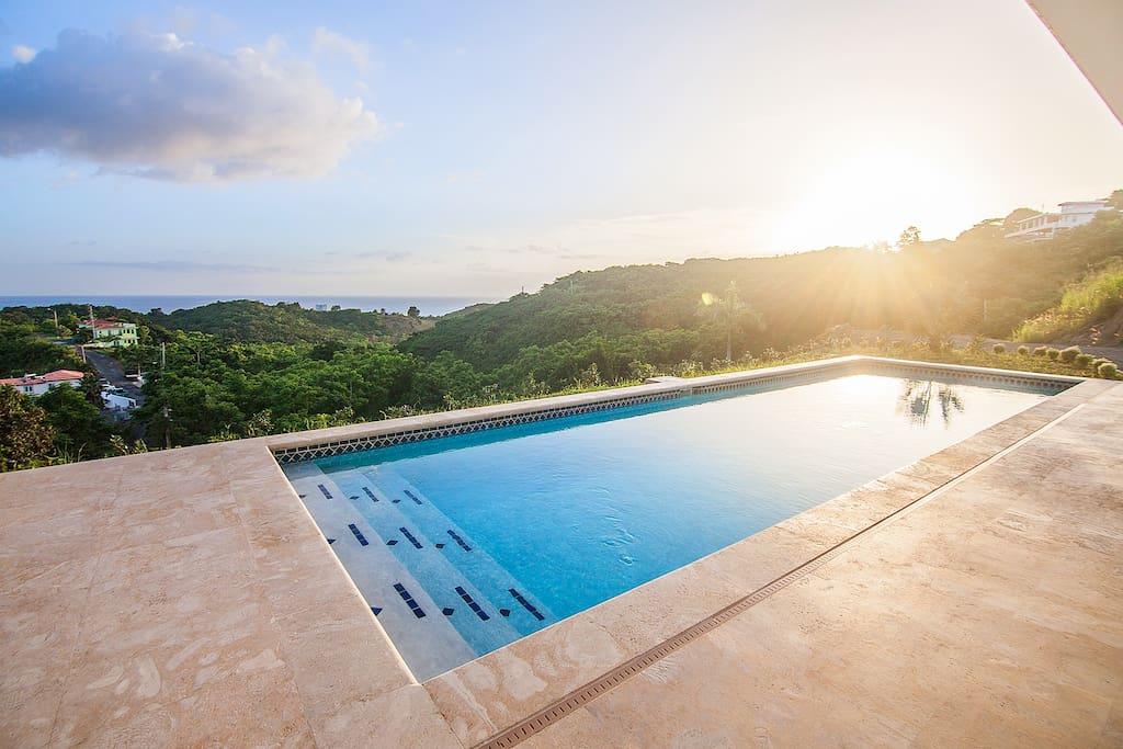 Hilltop Studio in Puerto Rico