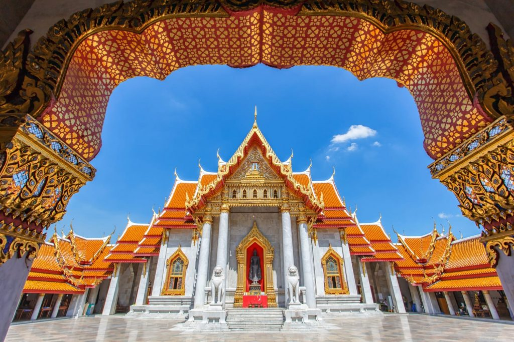 Wat Benchamabophit , Thailand (the Marble Temple)