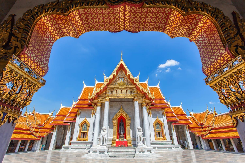 Wat Benchamabophit, Thailandia (il tempio di marmo)