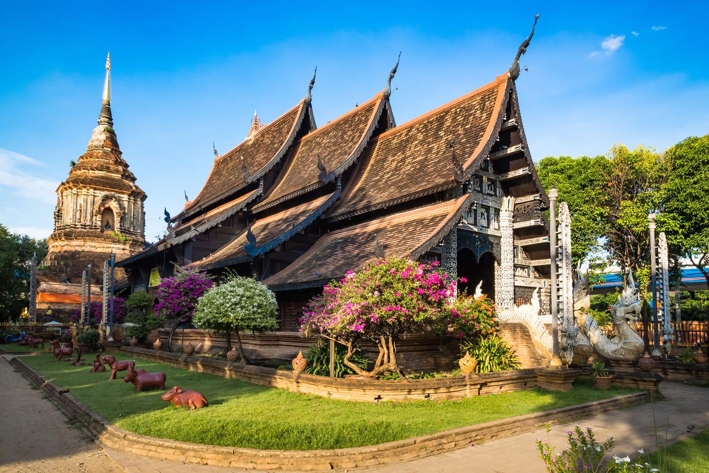 Wat Lok Molee in Chiang Mai Thailand