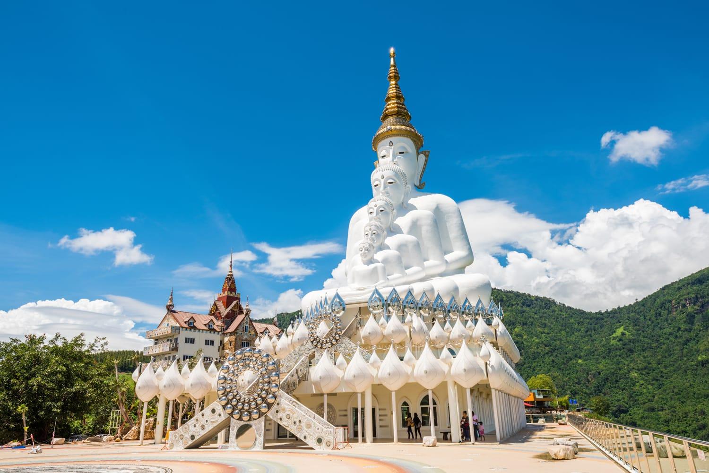 Wat Pha Sorn Kaew, also known as Wat Phra Thart Pha Kaew, Khao Kor, Phetchabun, Thailand