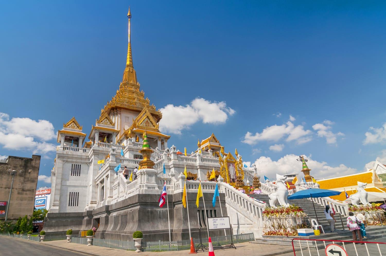 Wat Traimit, Tempio del Buddha d'Oro, Bangkok in Thailandia