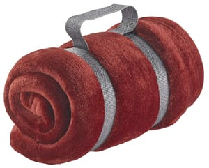 Lewis N Clark Microplush Travel Blanket