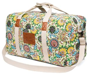 Malirona Canvas Weekender Bag for Travel