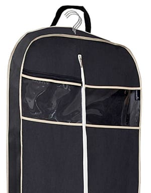 "MISSLO Gusseted 60"" Suit Dress Garment Bag"