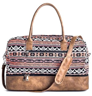 MyMealivos Weekender Bag with Shoe Pocket