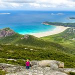 Scenic view on the Wilsons Promontory Natural Park in Australia