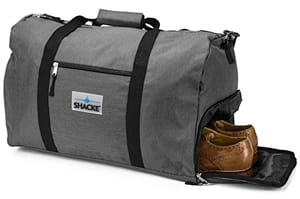 Shacke's Travel Express Weekender Bag with Shoe Pouch