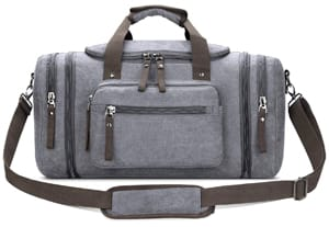 Toupons Canvas Carry-on Weekender Bag for Men