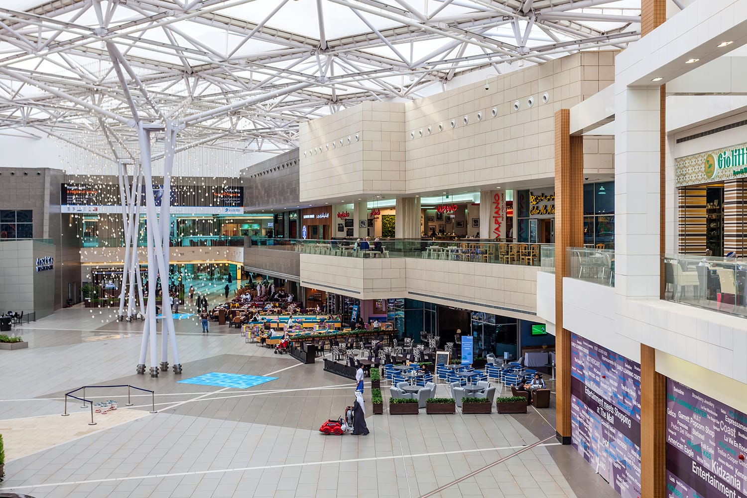 Interior of The Avenues Mall in Kuwait