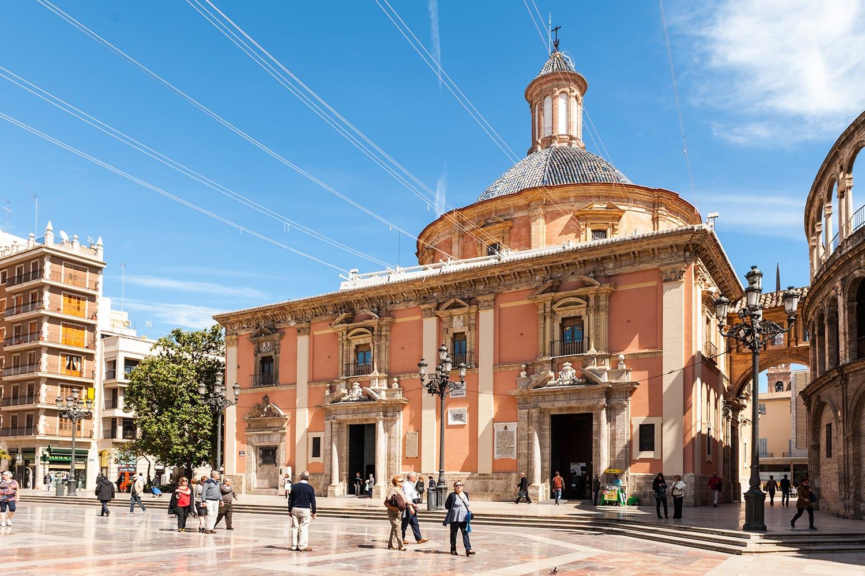 Basilica de la Virgen, Valencia, Spain