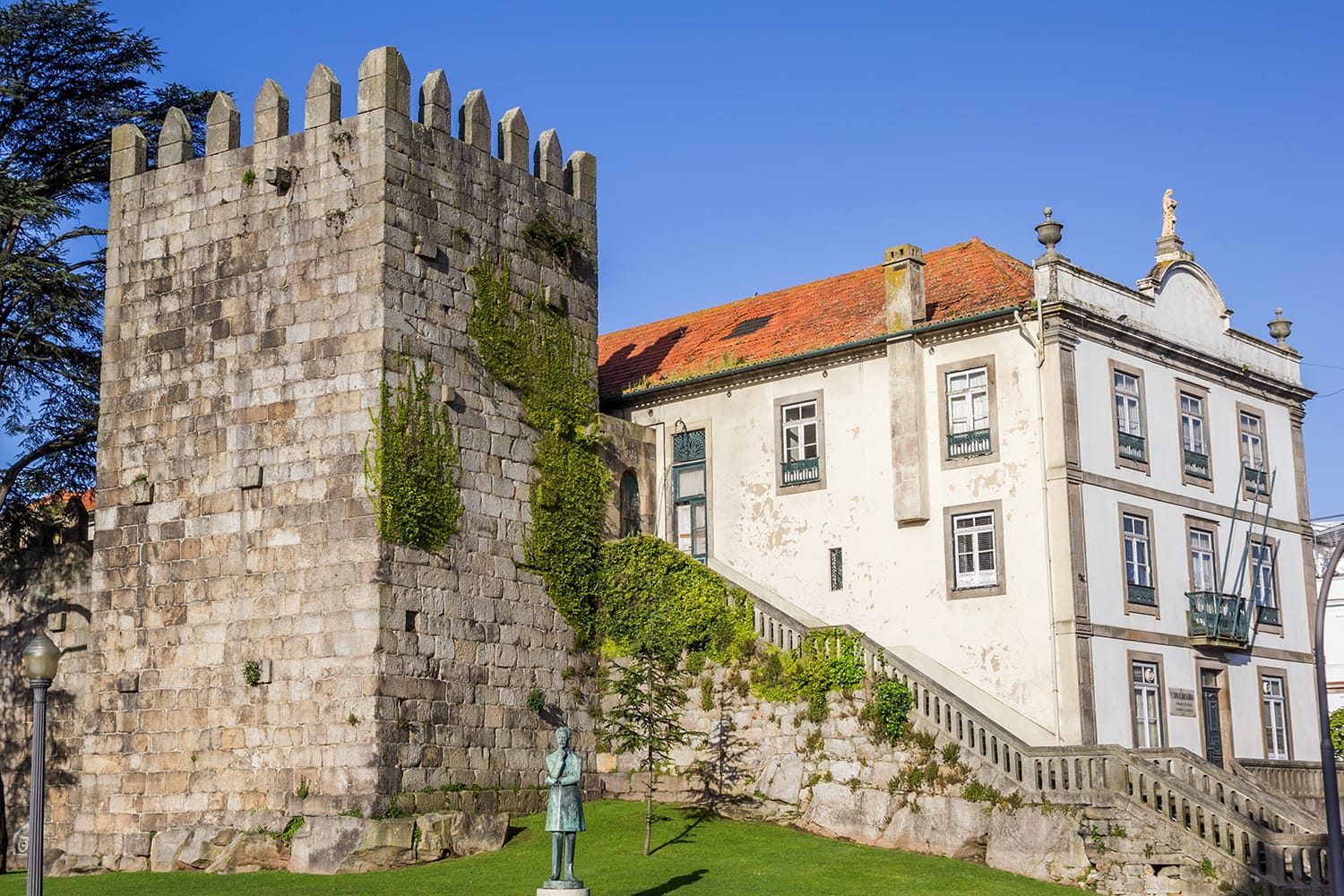 astle Maralha Fernandina in the historical center of Porto, Portugal