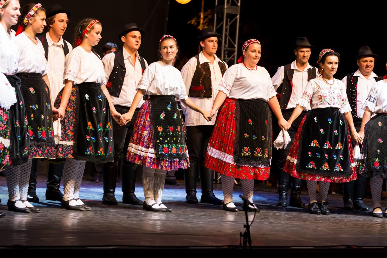 Hungarian Folk Dance in Budapest, Hungary