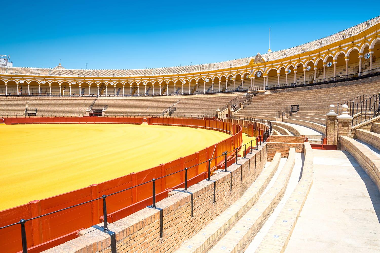 Plaza de toros de la Real Maestranza de Caballeria de Sevilla on Spain
