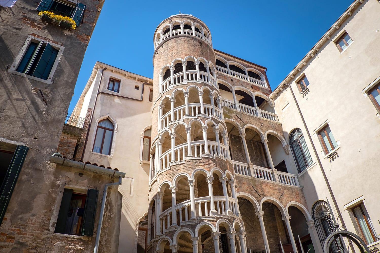 The Palazzo Contarini del Bovolo (also called the Palazzo Contarini Minelli dal Bovolo) is a small palazzo in Venice, Italy