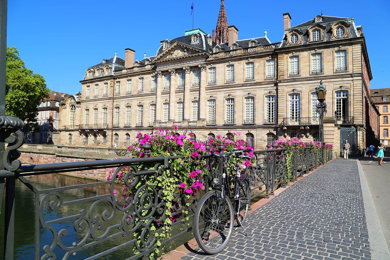 Château de Rohan in Strasbourg, France