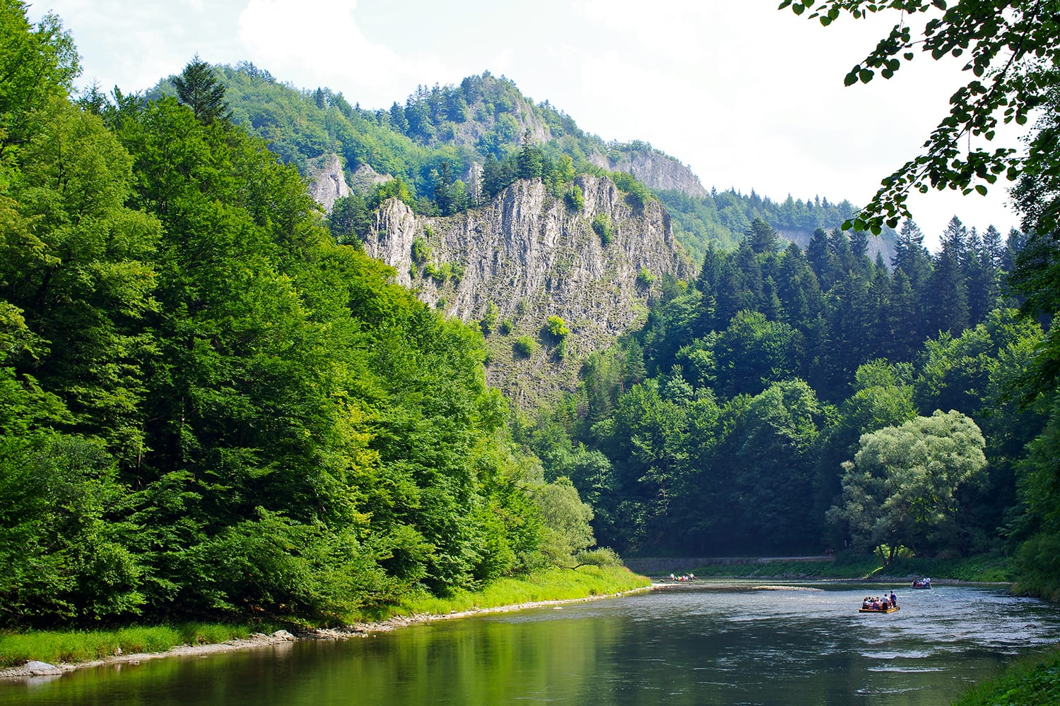Dunajec river in Pieniny mountains - Poland