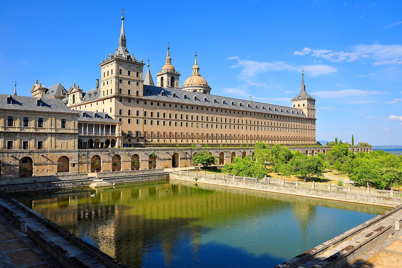 Дворец Эль Эскориал, Испания Куда поехать из Мадрида?
