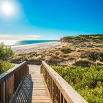 Port Willunga Beach view on a day, South Australia