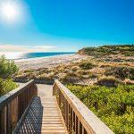Port Willunga Beach view on a day, South Australia
