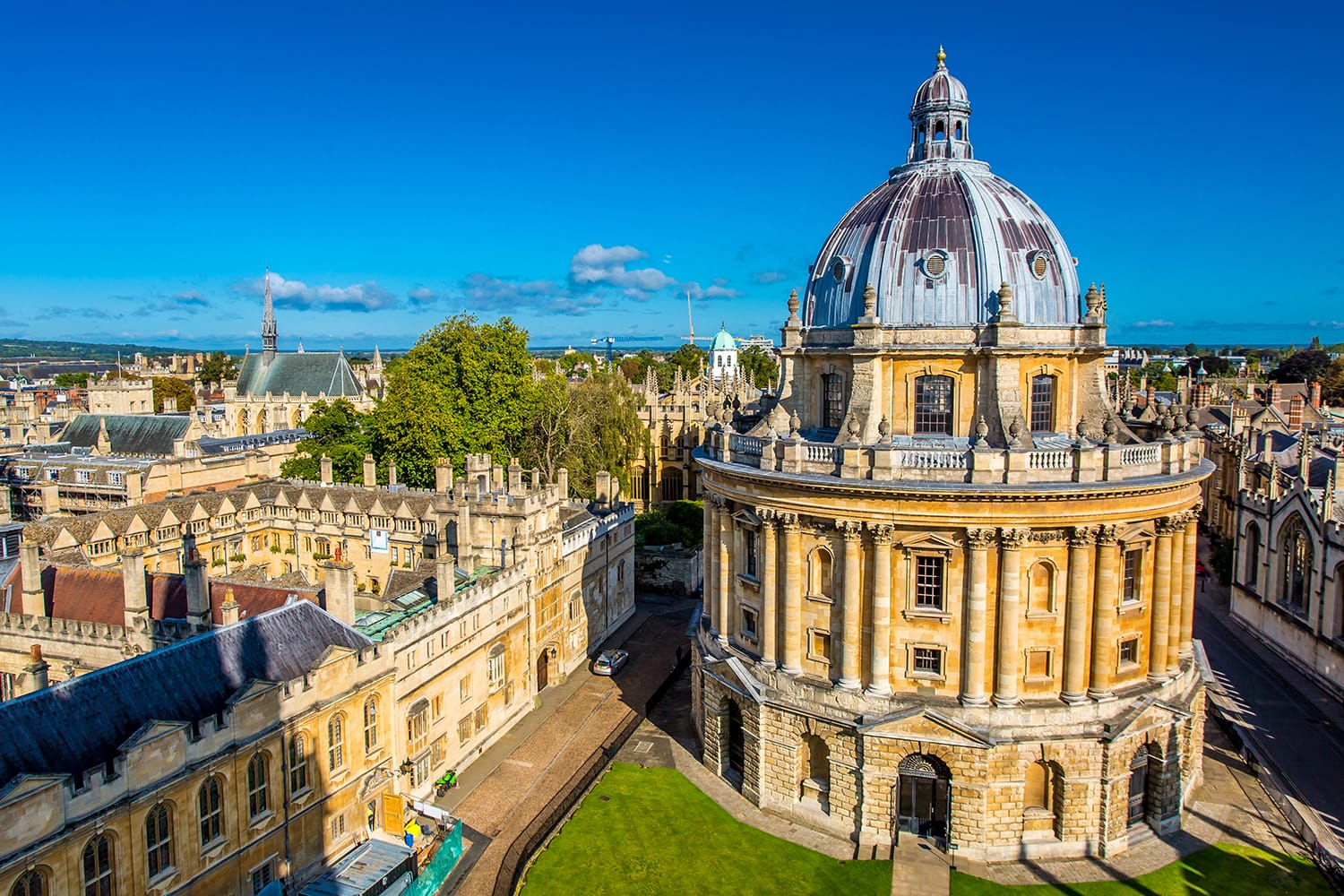 Radcliffe Camera, Bodleian Library, Oxford University, Oxford, England, United Kingdom