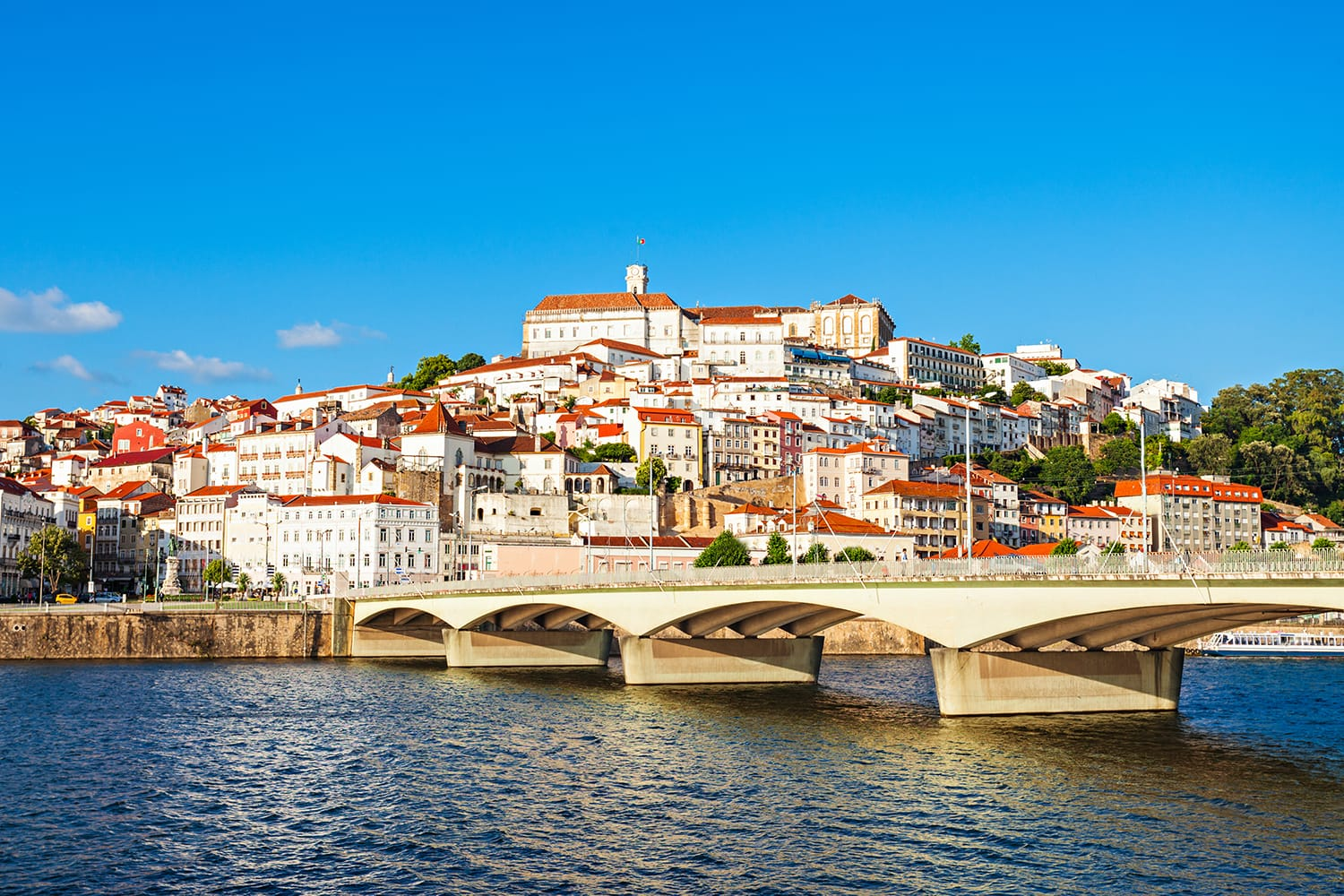 Skyline of Coimbra, Portugal