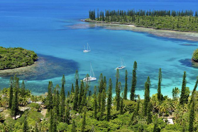 Kanumera bay in New Caledonia