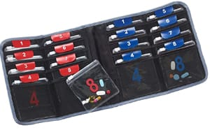 Lewis N. Clark AM/PM Folding Pill Organizer