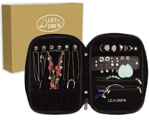 Lily & Drew Travel Jewelry Organizer