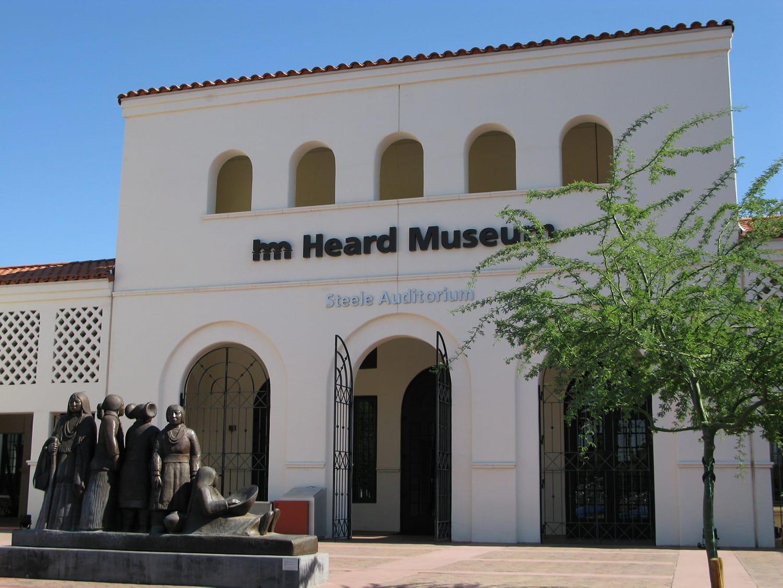 Heard Museum Exterior in Phoenix