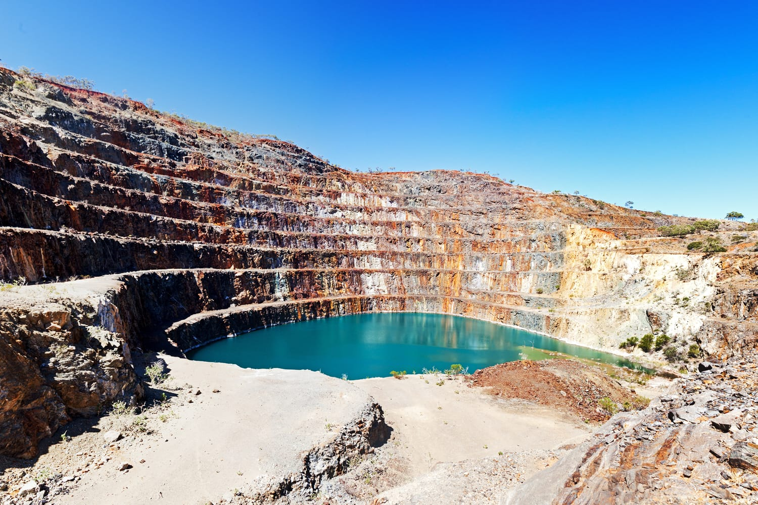 Mary Kathleen mine near Mount Isa in Australia