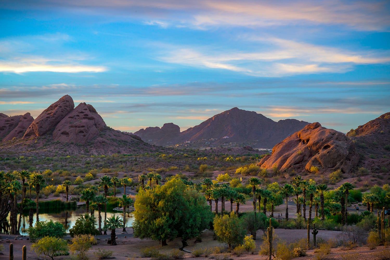 Papago Park in Phoenix