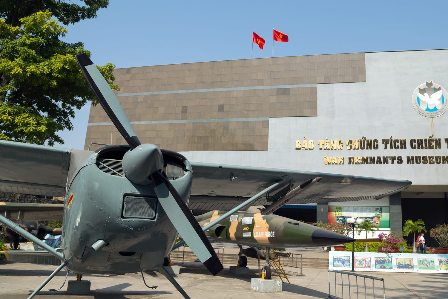 War Remnants Museum in Ho Chi Minh City, Vietnam