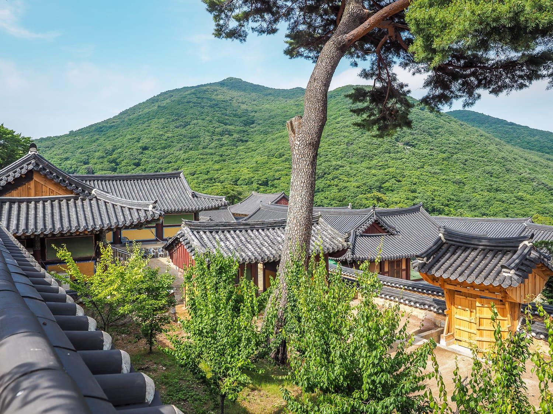 Beomeosa Temple in Busan, South Korea