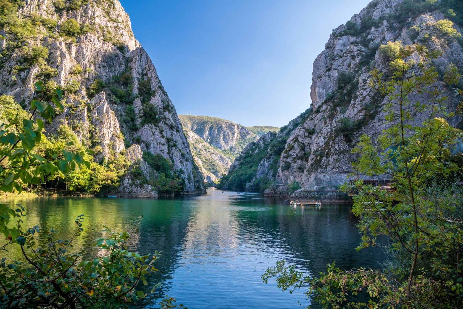 Matka Canyon near Skopje, Macedonia