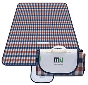 MIU COLOR Large Waterproof Beach Blanket