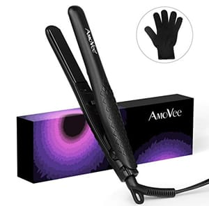 AmoVee Mini Flat Iron for Travel